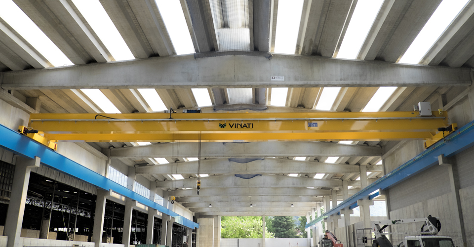 VINATI srl - single/double girder cranes and overhead cranes